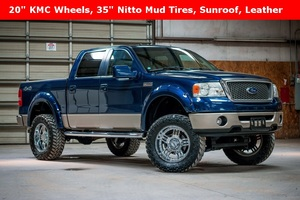 2008 Ford F-150 Lariat SuperCrew LIFTED 4x4 $21,988