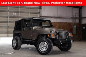 2006 Jeep Wrangler 4WD X  $17,455