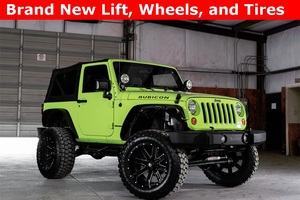 2012 Jeep Wrangler 4WD Rubicon LIFTED $30,996