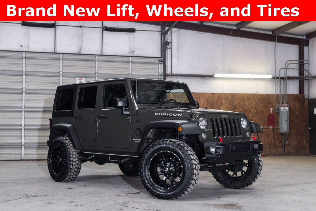 2015 Jeep Wrangler 4WD Unlimited Rubicon LIFTED