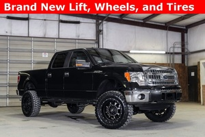 2014 Ford F-150 4x4 SuperCrew XLT LIFTED $31,992