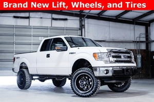 2013 Ford F-150 4x4 Extended Cab XLT LIFTED $28,988