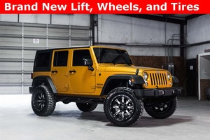 2014 Jeep Wrangler 4WD Unlimited Sport LIFTED $35,000