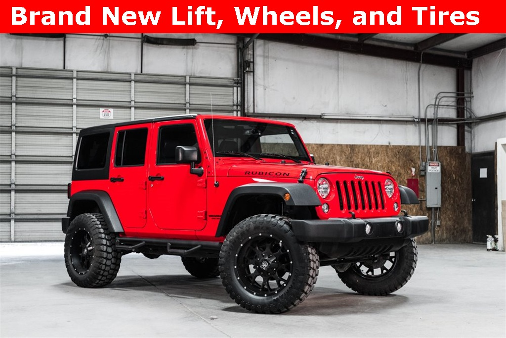 2016 Jeep Wrangler 4WD Unlimited Rubicon LIFTED
