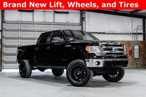 2014 Ford F-150 4x4 SuperCrew XLT LIFTED $33,988