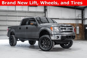 2014 Ford F-150 4x4 SuperCrew XLT LIFTED $35,000