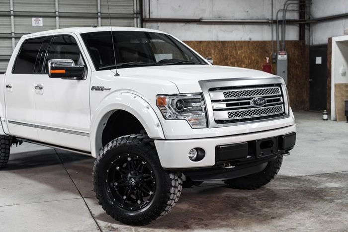 platinum ford 150 4x4 supercrew lifted
