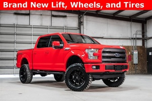 2016 Ford F-150 4x4 SuperCrew Lariat Sport LIFTED $42,961