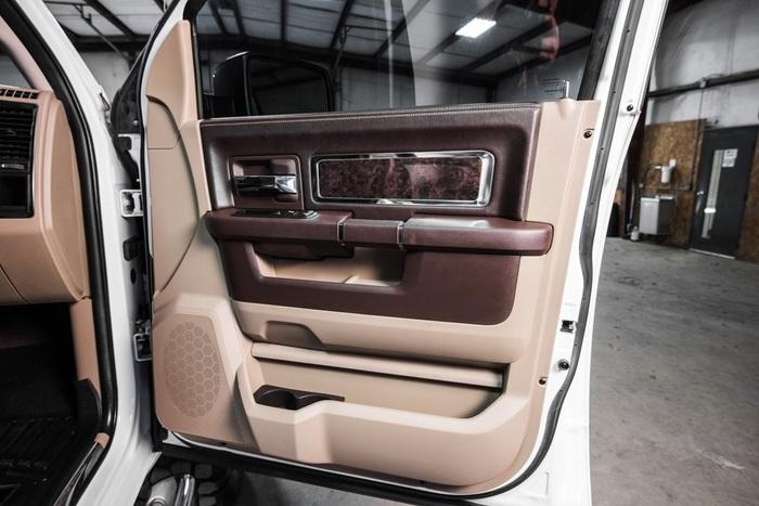Lifted 2012 Ram 1500 4x4 Crew Cab Laramie Longhorn  $29,991