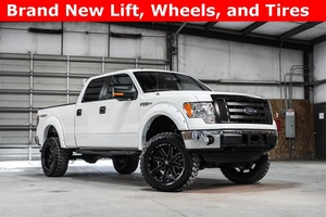 2014 Ford F-150 4x4 SuperCrew XLT LIFTED $29,994