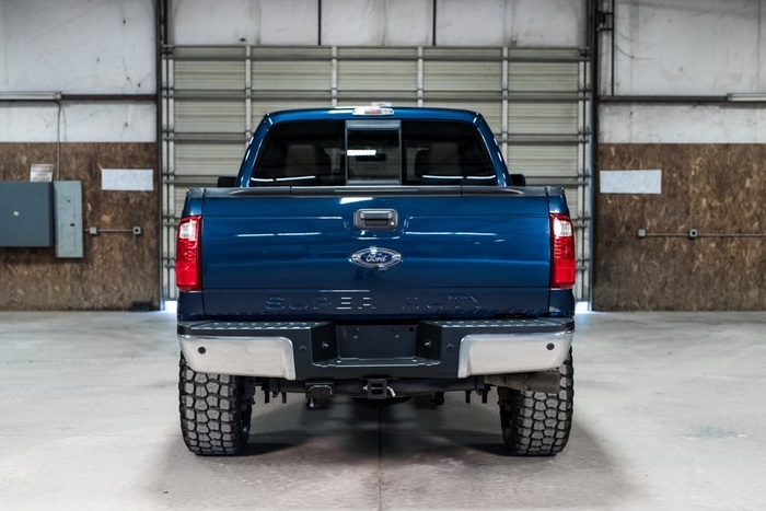 Lifted 2014 Ford F-250SD 4x4 Crew Cab Lariat FX4  $43,992