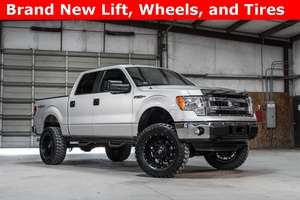 2014 Ford F-150 4x4 SuperCrew XLT LIFTED $30,971