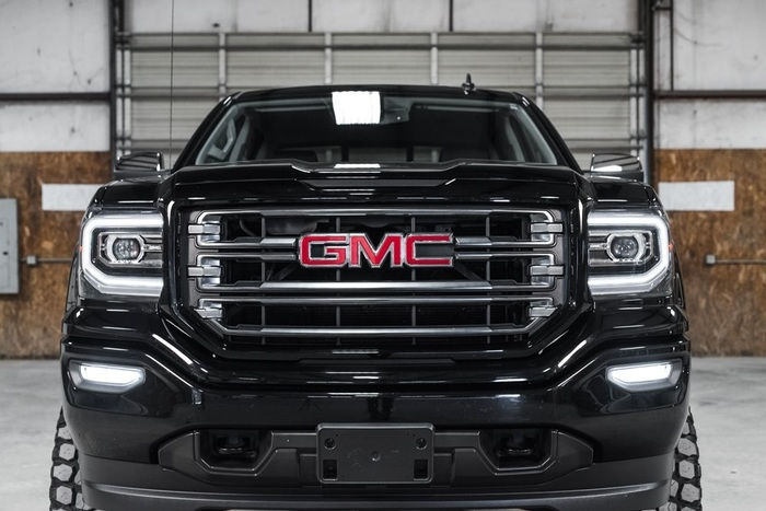 Lifted 2016 GMC Sierra 1500 4x4 Crew Cab SLE All Terrain  $42,897