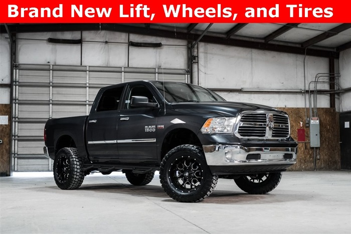 Lifted 2014 Ram 1500 4x4 Crew Cab SLT Big Horn  $31,871