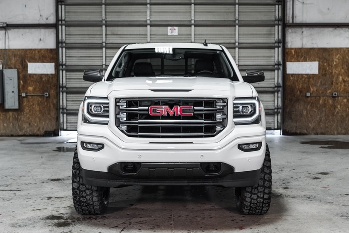 Lifted 2016 GMC Sierra 1500 4x4 Crew Cab SLT All Terrain  $46,761