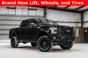 2015 Ford F-150 4x4 SuperCrew XLT Sport LIFTED $37,988