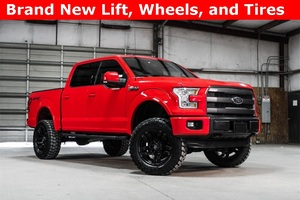 2015 Ford F-150 4x4 SuperCrew Lariat Sport LIFTED $47,988