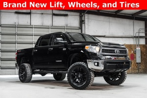 Lifted 2014 Toyota Tundra 4x4 CrewMax SR5 TSS Off Road  $38,988