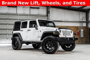 Lifted 2016 Jeep Wrangler 4WD Unlimited Rubicon  $38,894