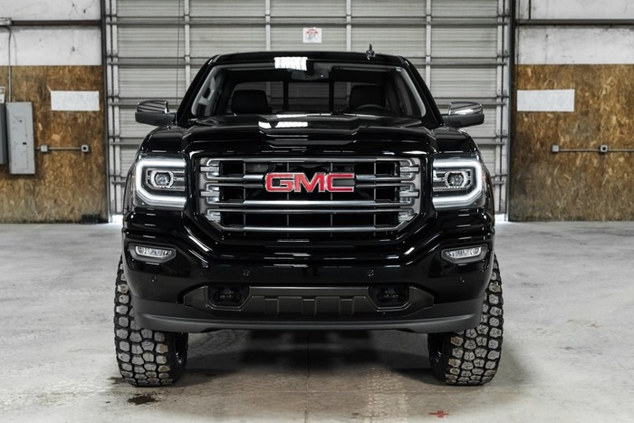 Lifted 2016 GMC Sierra 1500 4x4 Crew Cab SLT All Terrain  $51,997