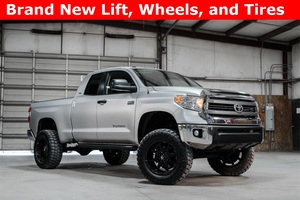 Lifted 2014 Toyota Tundra 4x4 Double Cab SR5  $33,992