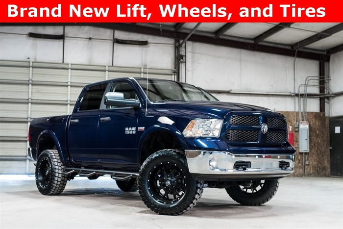 Lifted 2014 Ram 1500 4x4 Crew Cab Outdoorsman  $33,488