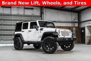 Lifted 2016 Jeep Wrangler 4WD Unlimited Sport  $37,988