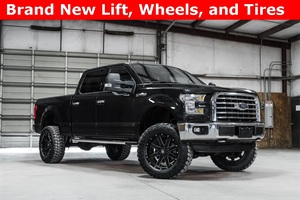 2015 Ford F-150 4x4 SuperCrew XLT LIFTED $39,488