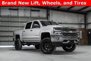 Lifted 2016 Chevrolet Silverado 1500 4x4 Crew Cab LTZ  $45,887