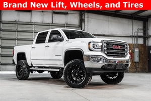 2016 GMC Sierra 1500 4x4 Crew Cab SLT LIFTED $46,988