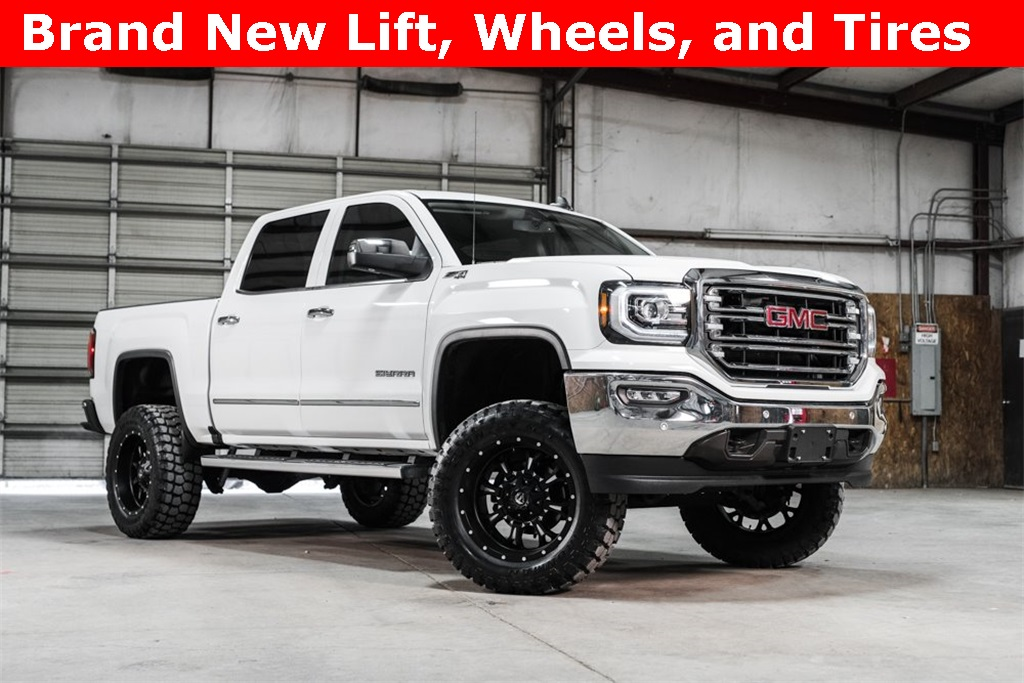 2016 GMC Sierra 1500 4x4 Crew Cab SLT LIFTED