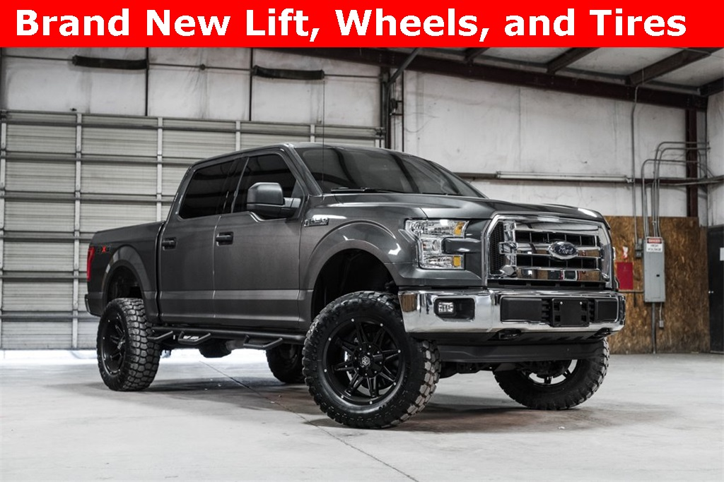 2016 Ford F-150 4x4 SuperCrew XLT LIFTED