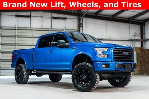 2015 Ford F-150 4x4 SuperCrew XLT Sport LIFTED $40,000