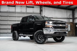 Lifted 2016 Chevrolet Silverado 1500 4x4 Crew Cab LT  $38,994