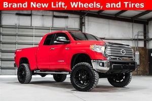 Lifted 2015 Toyota Tundra 4x4 Double Cab TRD  $38,956