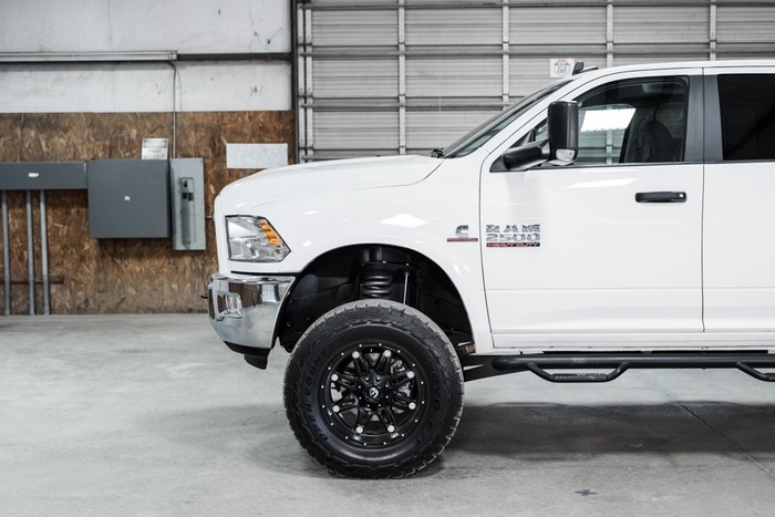Lifted 2016 Ram 2500 4x4 Crew Cab SLT Outdoorsman  $50,000