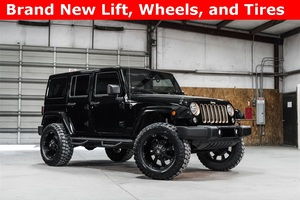 Lifted 2014 Jeep Wrangler 4WD Unlimited Sahara  $32,891
