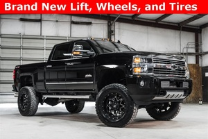 2016 Chevrolet Silverado 2500HD 4x4 Crew Cab High Country LIFTED $63,988
