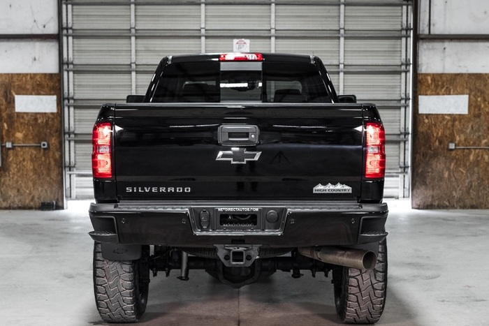 Lifted 2016 Chevrolet Silverado 2500HD 4x4 Crew Cab High Country  $63,988