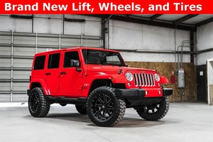 Lifted 2016 Jeep Wrangler 4WD Unlimited Sahara  $37,793