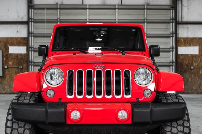 Lifted 2016 Jeep Wrangler 4WD Unlimited Sahara  $36,793