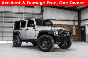 Lifted 2015 Jeep Wrangler 4WD Unlimited Sport  $35,488