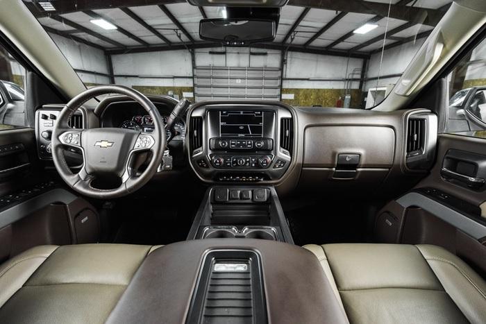 Lifted 2016 Chevrolet Silverado 1500 4x4 Crew Cab LTZ Z71  $51,488
