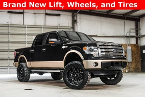 Lifted 2013 Ford F-150 4x4 SuperCrew King Ranch  $35,000