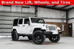 2016 Jeep Wrangler 4WD Unlimited Sahara LIFTED $41,988