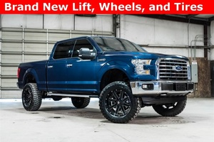 Lifted 2015 Ford F-150 4x4 SuperCrew XLT  $37,488