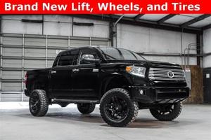 Lifted 2014 Toyota Tundra 4x4 CrewMax Platinum  $43,988