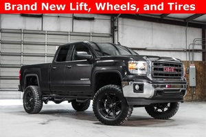 Lifted 2015 GMC Sierra 1500 4x4 Double Cab SLE  $35,988