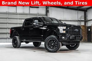 Lifted 2016 Ford F-150 4x4 SuperCrew XLT Sport  $40,000