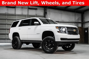 Lifted 2016 Chevrolet Tahoe 4x4 LT  $50,988